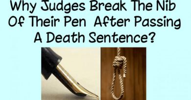 Why Judges Break The Nib Of Their Pen After Passing A Death Sentence