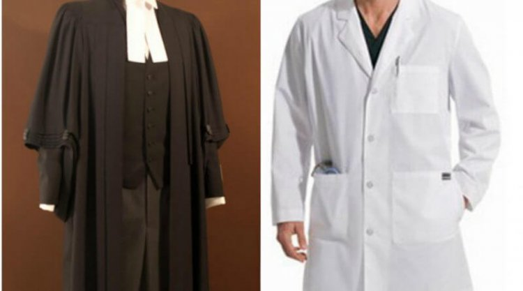 Why do doctors wear white and lawyers black?