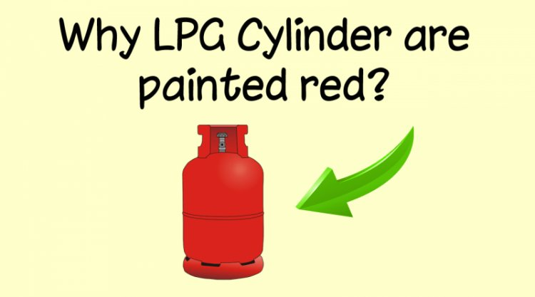 Why LPG Cylinder are painted red?